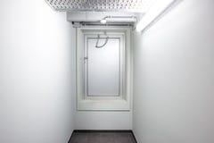 Emergency exit door Royalty Free Stock Photos