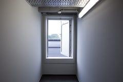 Emergency exit door Royalty Free Stock Photo