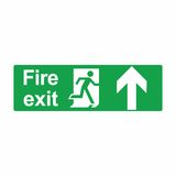 Emergency exit or fire exit sign vector design. Isolated on white background Royalty Free Stock Images