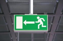 Emergency exit Stock Image