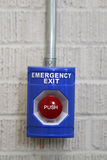 Emergency Exit Push Button Stock Images