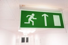 Emergency exit Stock Photos