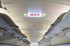 Emergency exit sign. stock photos