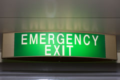 Emergency exit Royalty Free Stock Photo