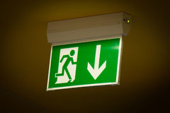 Emergency exit - Stock Image Stock Photos