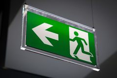 Emergency exit - Stock Image Royalty Free Stock Photos