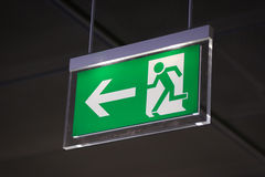 Emergency exit - Stock Image Stock Photography