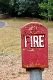 Emergency Fire Box Royalty Free Stock Image
