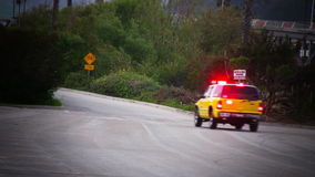 Emergency Fire EMS Driving By Royalty Free Stock Images