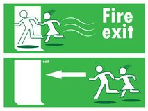 Emergency fire exit Stock Image
