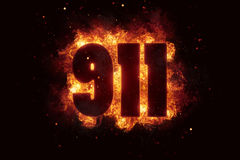 911 Emergency fire flames explosion explode. 911 Emergency fire call flames explosion explode Stock Images