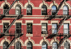 New York fire stairs Stock Image