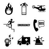Emergency. Fire Emergency, Vector illustration, graphic eps 10 royalty free illustration