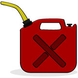 Emergency fuel supply Royalty Free Stock Photos