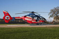 Emergency helicopter Royalty Free Stock Images