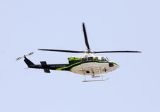 Emergency helicopter Royalty Free Stock Image