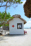 Emergency Hut Stock Image