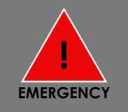 Emergency icon illustrated. On a white background Stock Photo