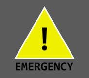Emergency icon illustrated. On a white background Royalty Free Stock Image
