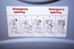 Emergency Instruction Royalty Free Stock Photo