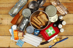 Emergency Items stock photos