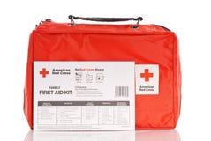 Emergency Kit. American Red Cross Emergency Kit Stock Images