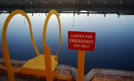 Emergency Ladder Stock Photography