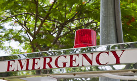 Emergency Light Royalty Free Stock Image