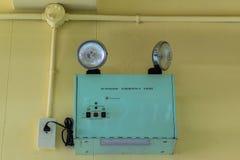 Emergency lighting Stock Photography
