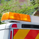 Emergency Lights Royalty Free Stock Photography
