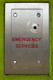 Emergency lock. Emergency services access key point on a residential block of flats Stock Photography
