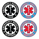 Emergency Medical Response Team Stock Photo