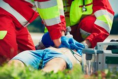 Emergency medical service Royalty Free Stock Photo