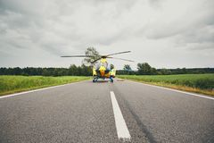 Emergency medical service stock photos