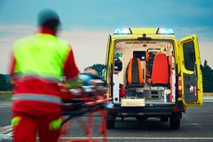 Emergency medical service Royalty Free Stock Image
