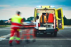 Emergency medical service Royalty Free Stock Photo