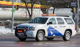 Emergency Medical Services in Toronto Royalty Free Stock Images