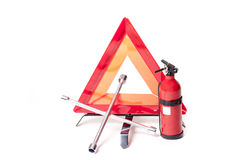 Emergency objects Stock Image