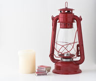 Emergency Or Power Outage Kit Stock Images