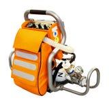 Emergency oxygen stock photo