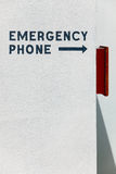 Emergency Phone Royalty Free Stock Photos