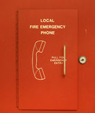 Emergency Phone Royalty Free Stock Photography