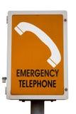 Emergency phone Stock Image