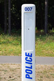 Emergency police caller Royalty Free Stock Images