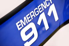 Emergency 911 Police Royalty Free Stock Photography