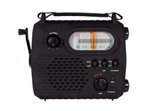 Emergency radio isolated Stock Image