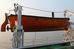 Emergency Rescue Boat Royalty Free Stock Photo