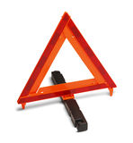 Emergency Road Sign Stock Photo