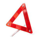 Emergency Road Triangle - Stock Photo Royalty Free Stock Photos