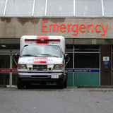 Emergency room entrance Royalty Free Stock Photography